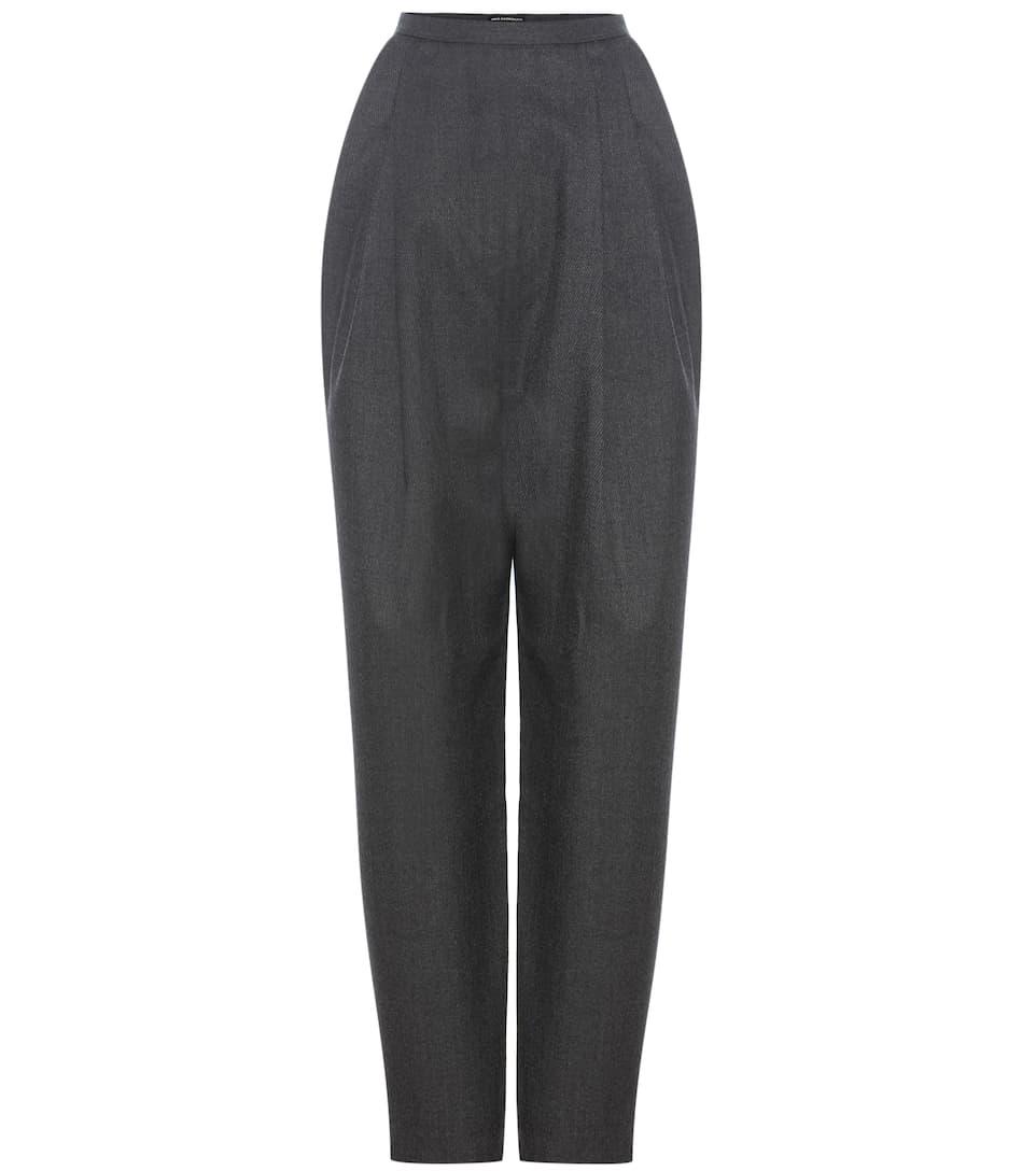 Vika Gazinskaya High-waisted wool trousers