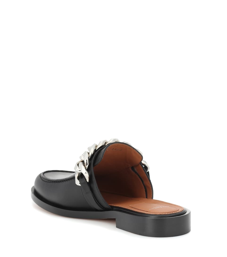 Givenchy Slippers aus Leder