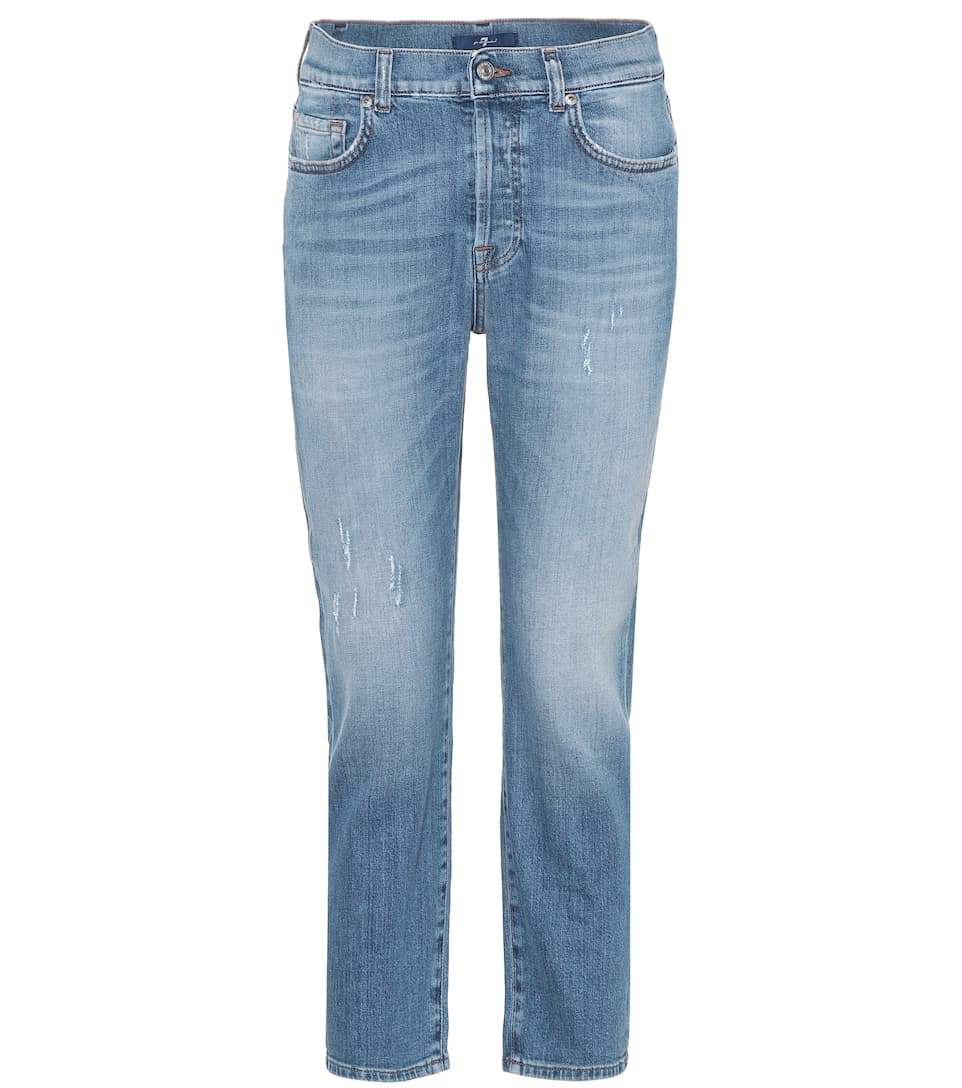7 For All Mankind Cropped Jeans Josefina