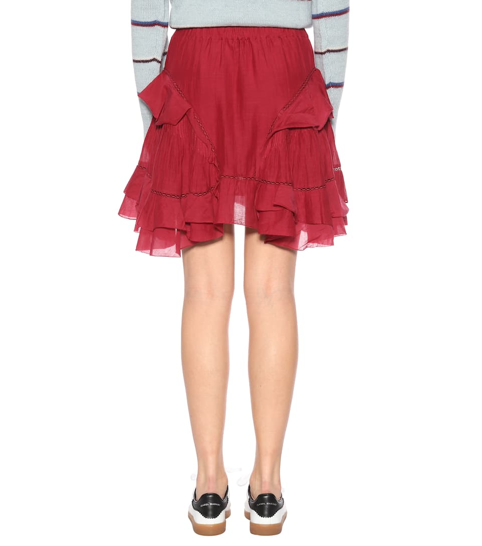 Isabel Marant, Étoile Miniskirt Varese With A Cotton-share