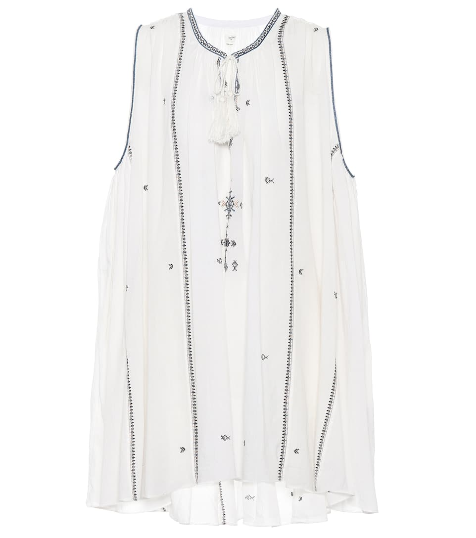 Manchester Great Sale Cheap Online Embroidered cotton swing dress Isabel Marant Prices For Sale Discount Exclusive Sale Looking For Clearance 2018 Unisex 7emuWY