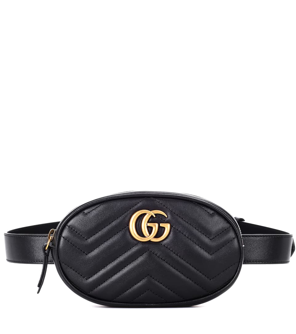 1491699a62bf Gg Marmont Leather Belt Bag - Gucci | mytheresa