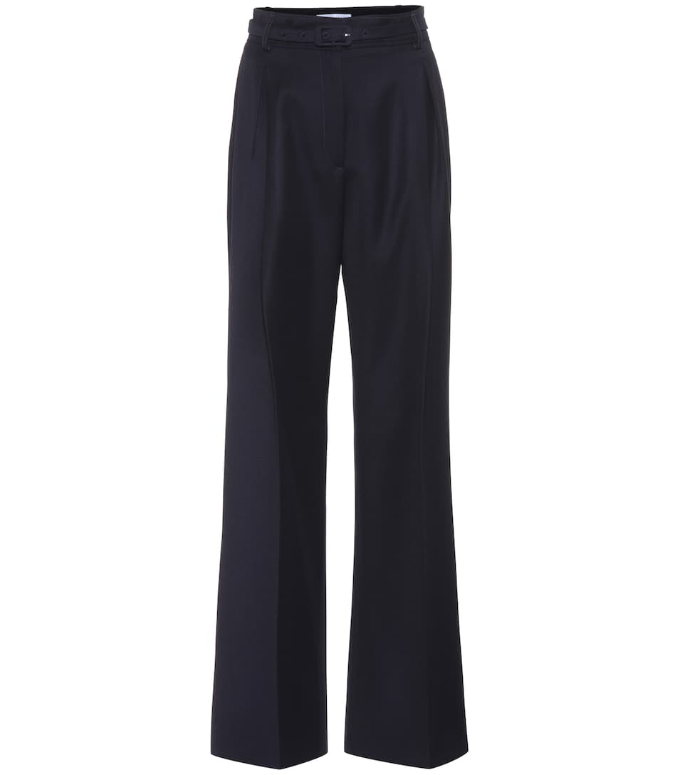 DORA HIGH-WAISTED WOOL TROUSERS