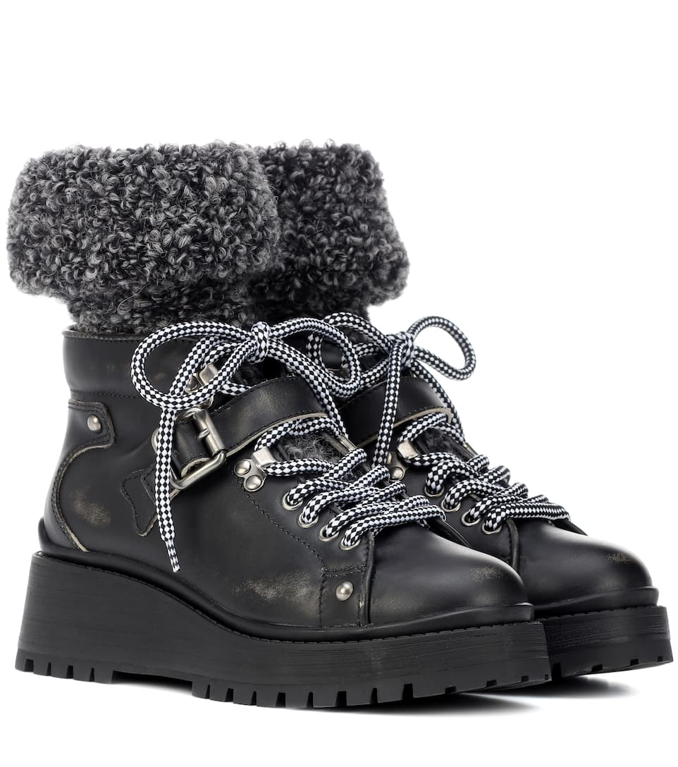 f4e387cafcb Leather Ankle Boots