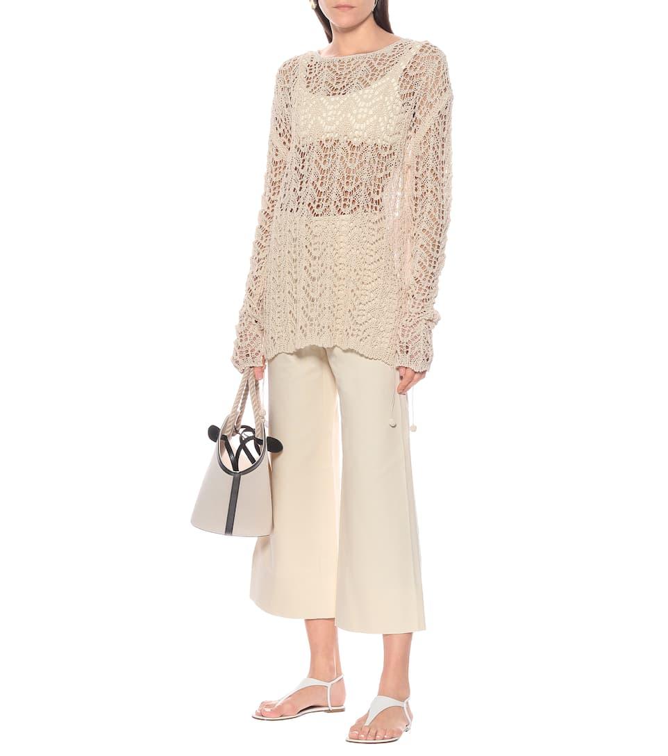 Jil Sander - Cotton drawstring sweater