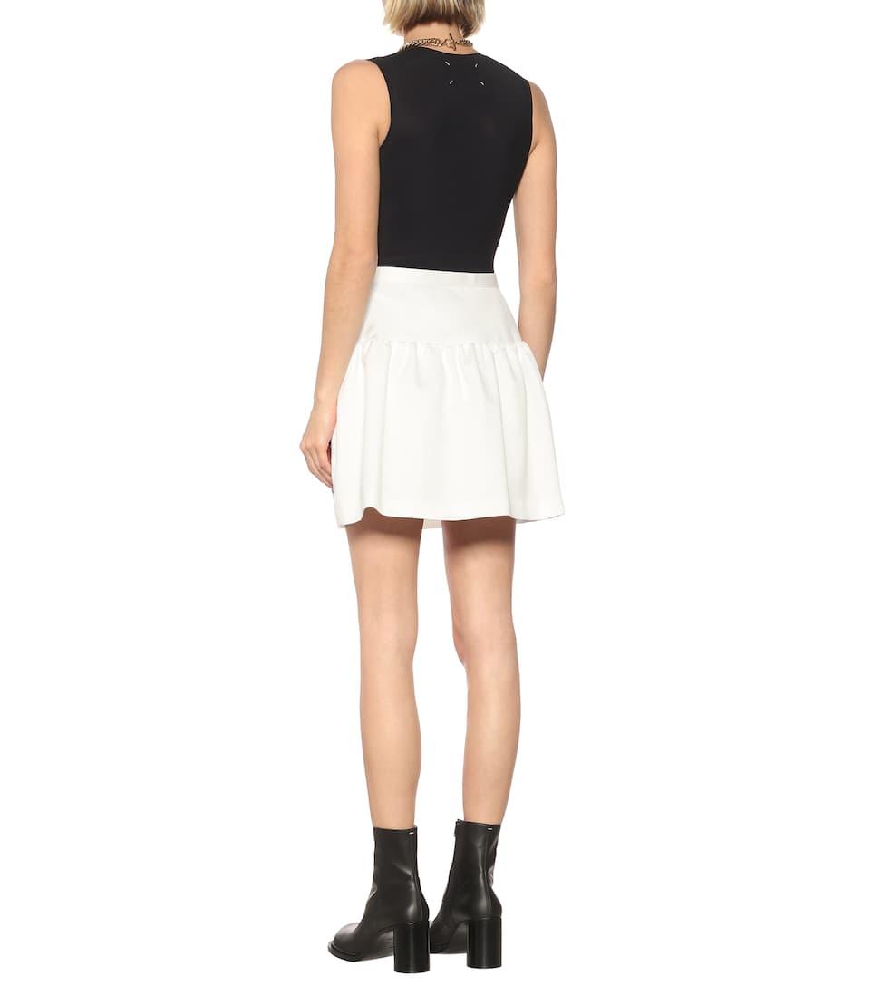 Embellished Nylon Miniskirt - Undercover