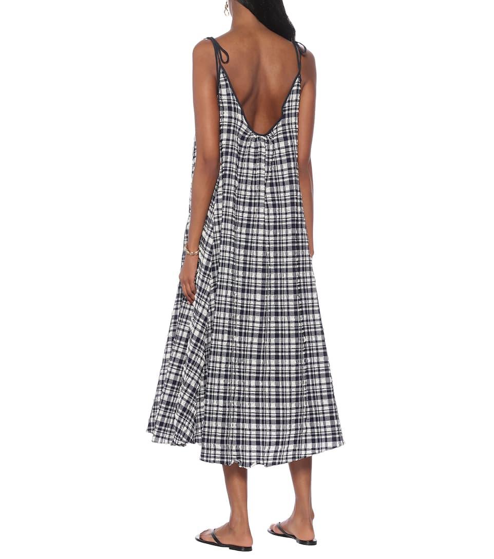 Check Maxi Dress - Solid & Striped | Mytheresa cnRqIrX3