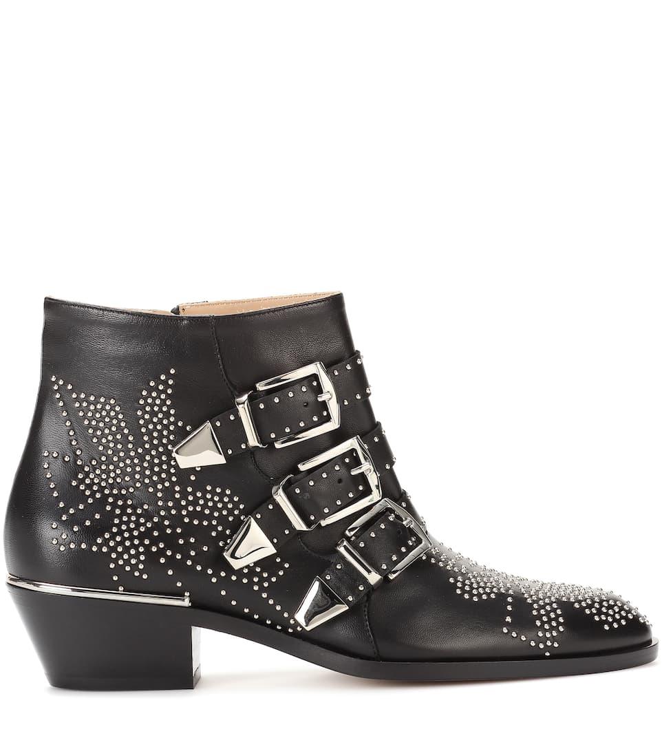 Chloé Ankle Boots Susanna aus Leder