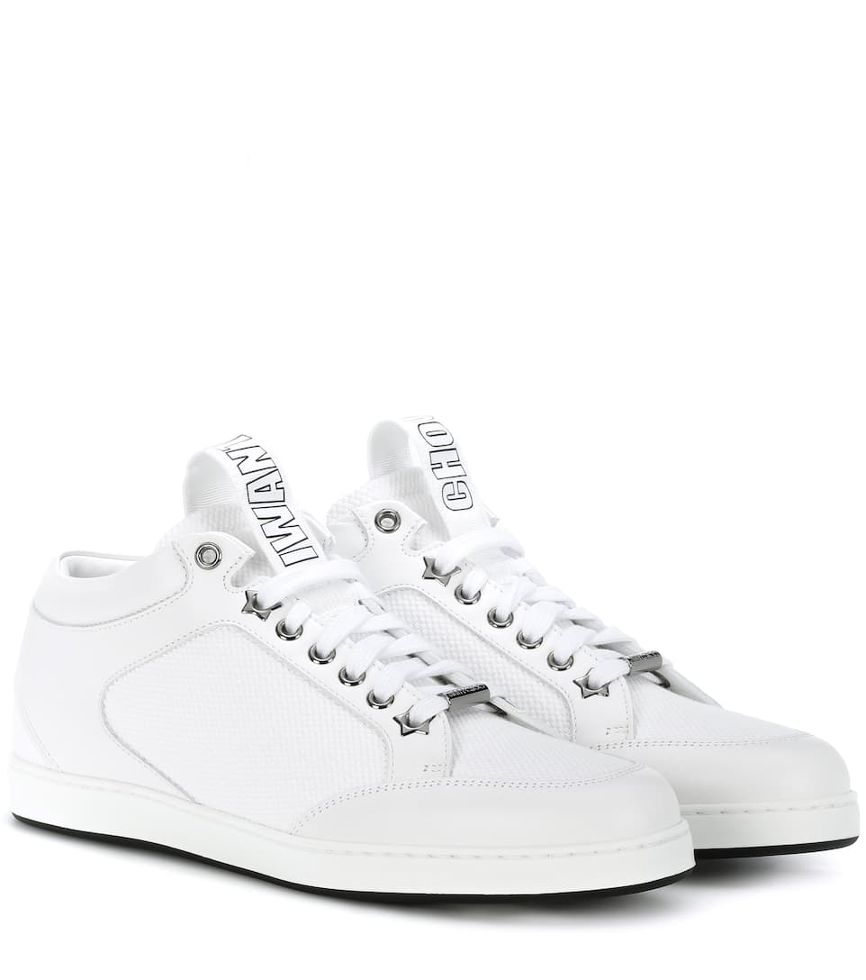 Jimmy Choo Sneakers Miami Leder Aus