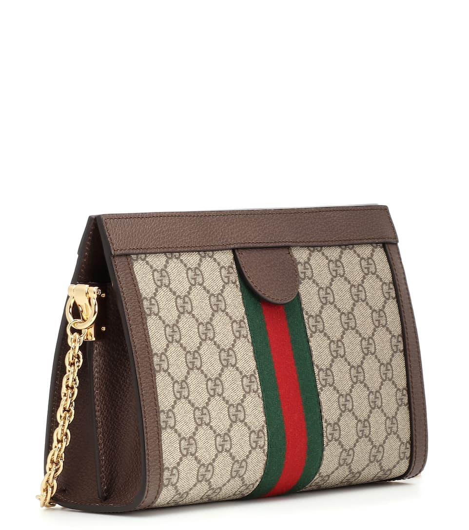 05b76d6d7c34c Schultertasche Ophidia Gg Small Aus Canvas - Gucci