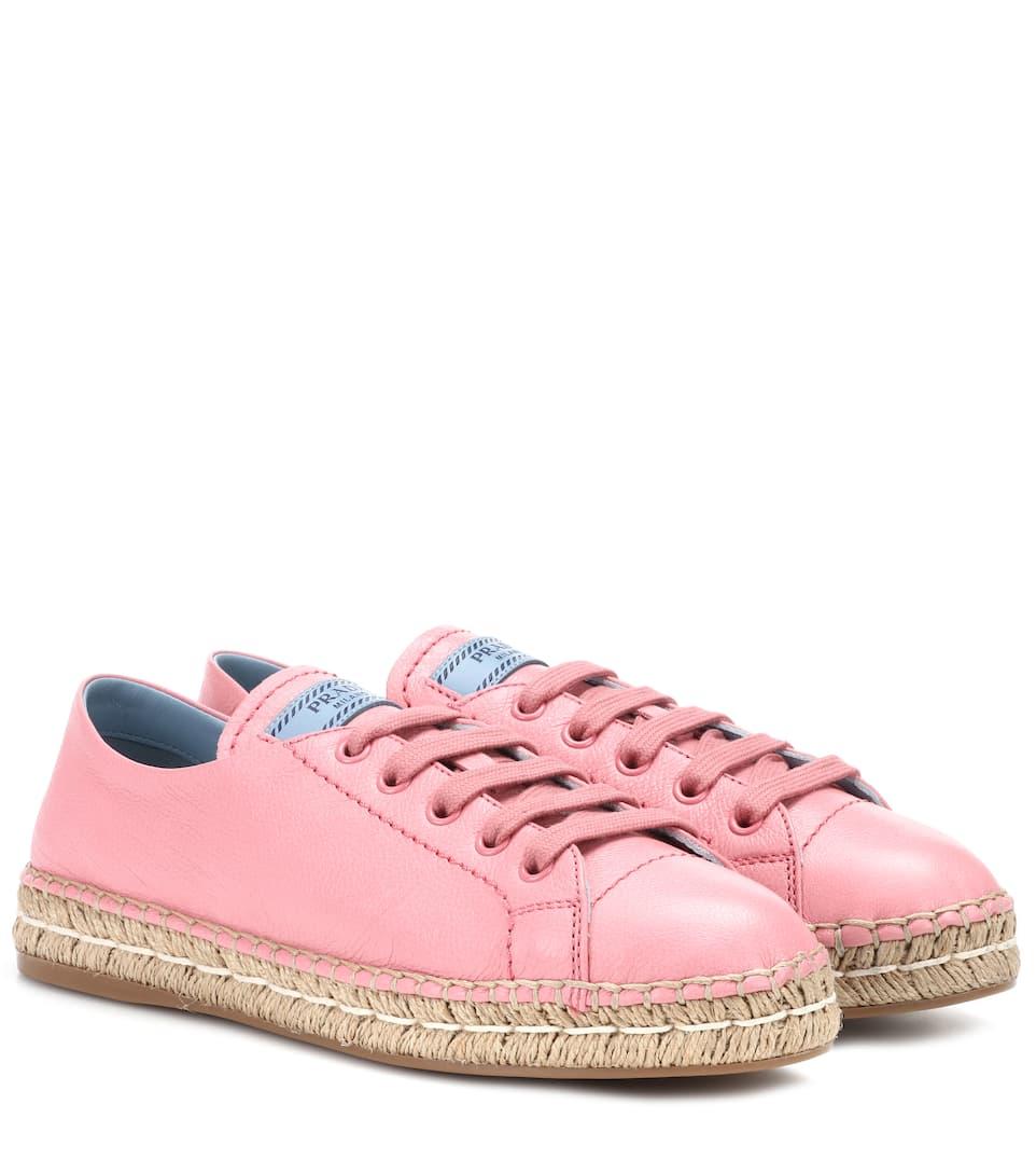 Prada Sneakers In Leather