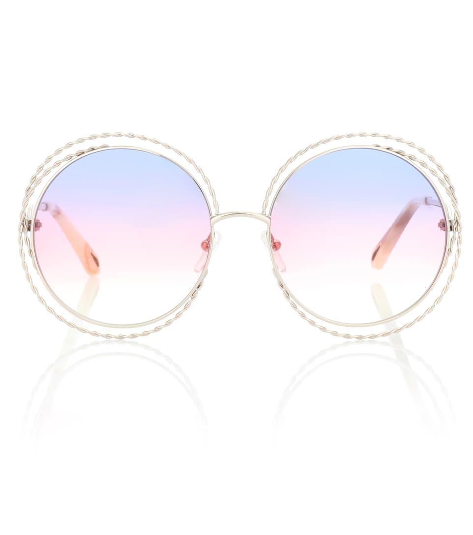 c230e365d7 Carlina Round Sunglasses - Chloé | mytheresa.com