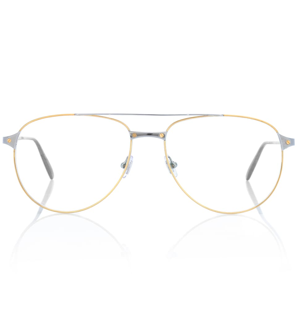 2c0bdd3dc02 Santos De Cartier Aviator Glasses - Cartier Eyewear Collection ...