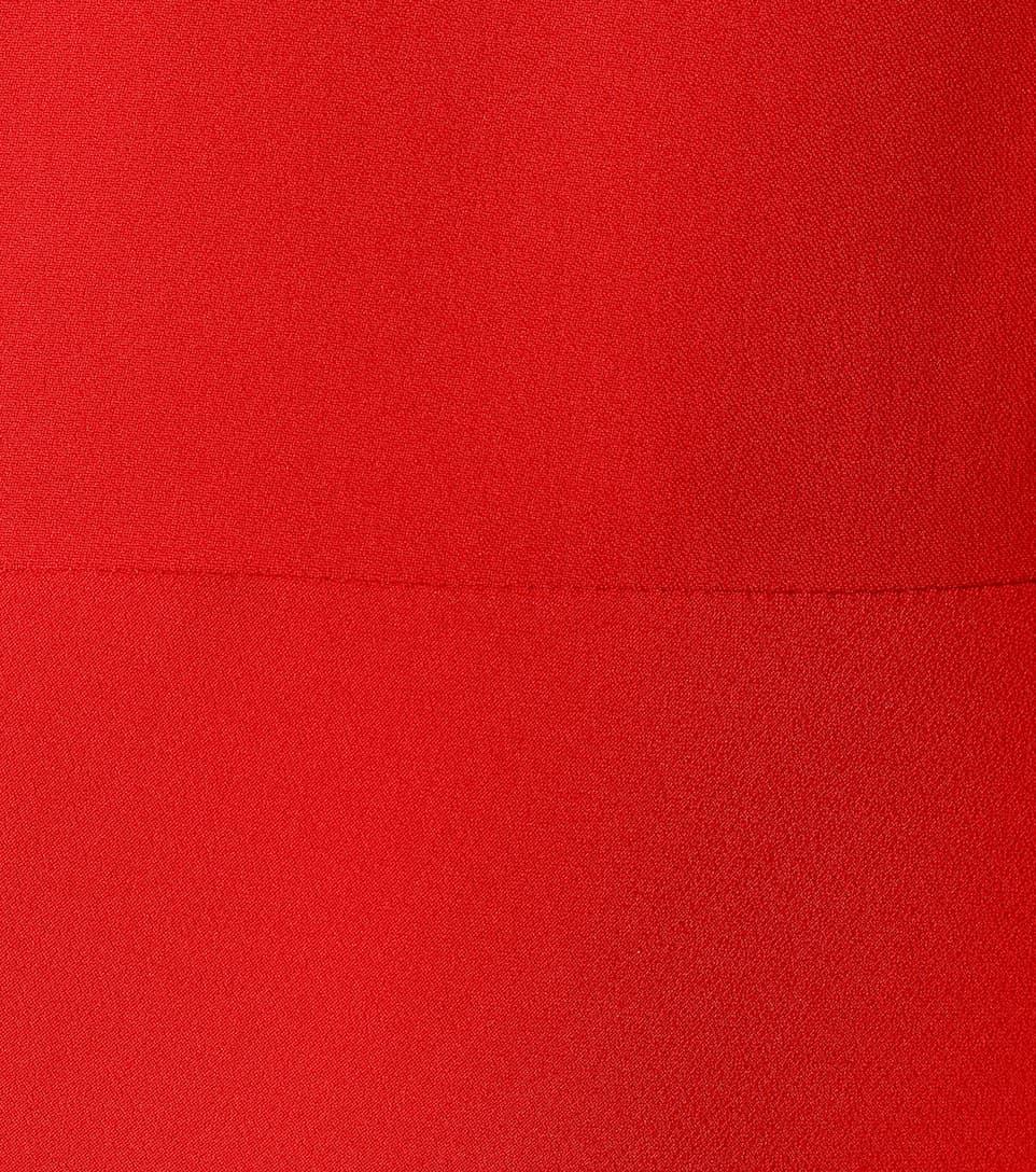 Robe Longue En Crêpe - Alexander McQueen Meilleurs Prix BASgQm