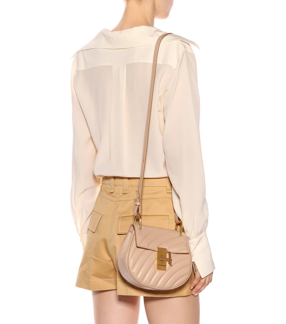 9f7fa0ab Drew Mini Bijou Leather Shoulder Bag - Chloé   mytheresa
