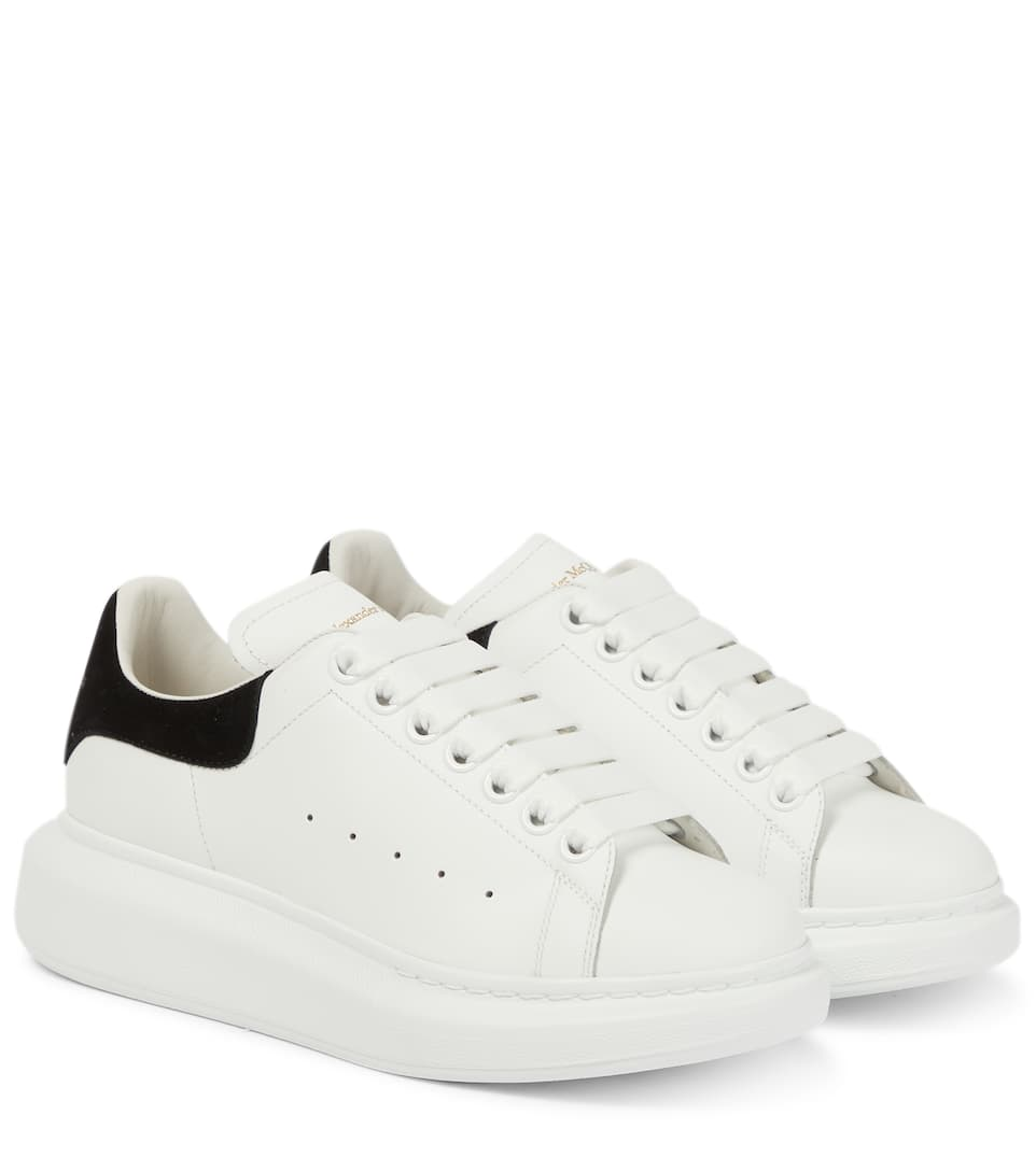 74cc34e487320 Leather Sneakers - Alexander McQueen