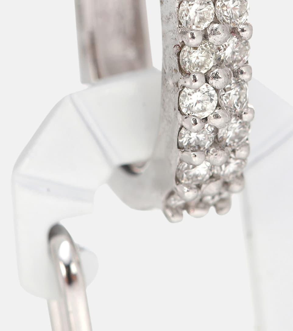 Diamants Mytheresa Boucle Or 18 – Unique Exclusivité Ct Eera Chiara En D'oreille Et Small EH9D2IW