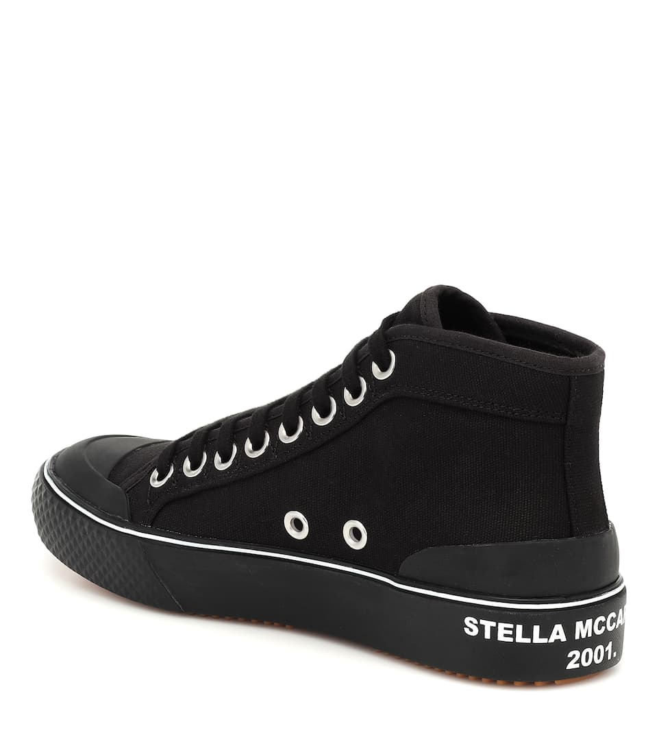 Stella Mccartney - Canvas High-top Sneakers Big Discount