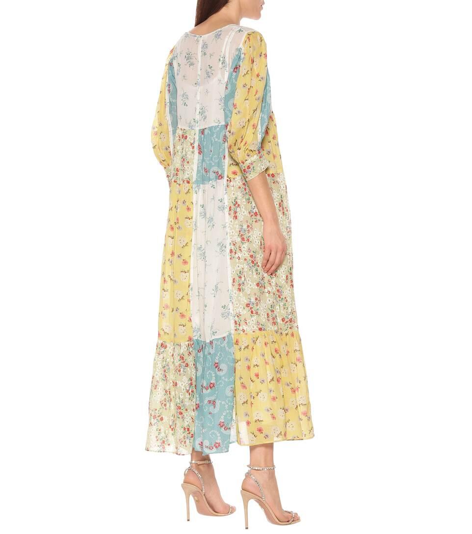 Bex Floral Cotton Midi Dress - LoveShackFancy