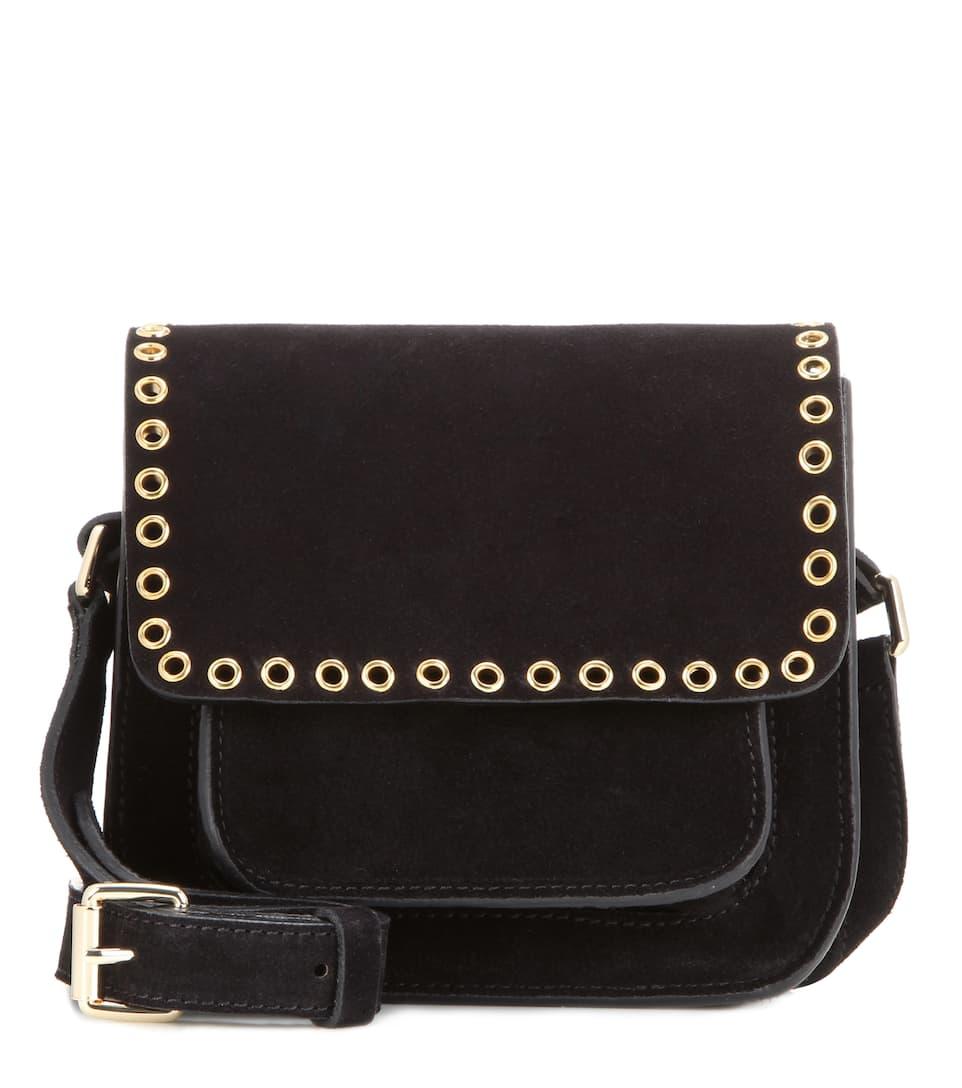 Marfa Embellished Suede Crossbody Bag Isabel Marant Étoile Mytheresa