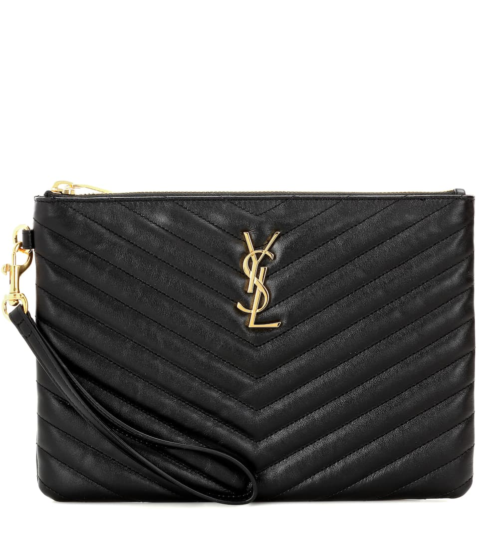 Astuccio Monogram In Pelle by Saint Laurent