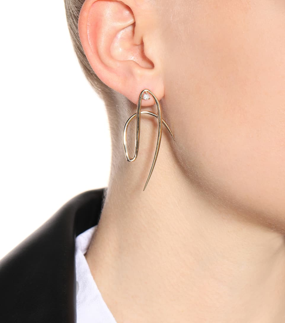 Et Or Fine En Fluid OrbitWasson D'oreilles Mytheresa Diamants Boucles Artnbsp;p00265442 Ct N° 14 CeBodx