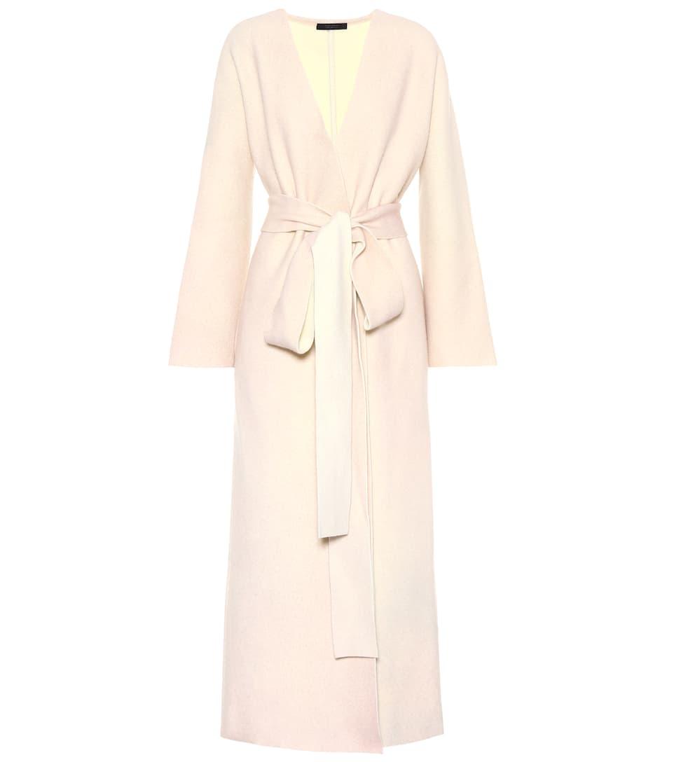The Row Mantel Misty mit Wolle und Cashmere