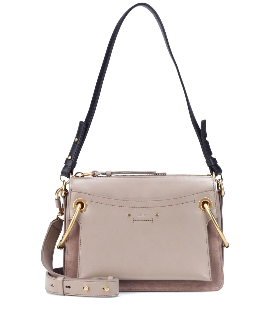 Roy Small Leather Shoulder Bag - Beige Chloé