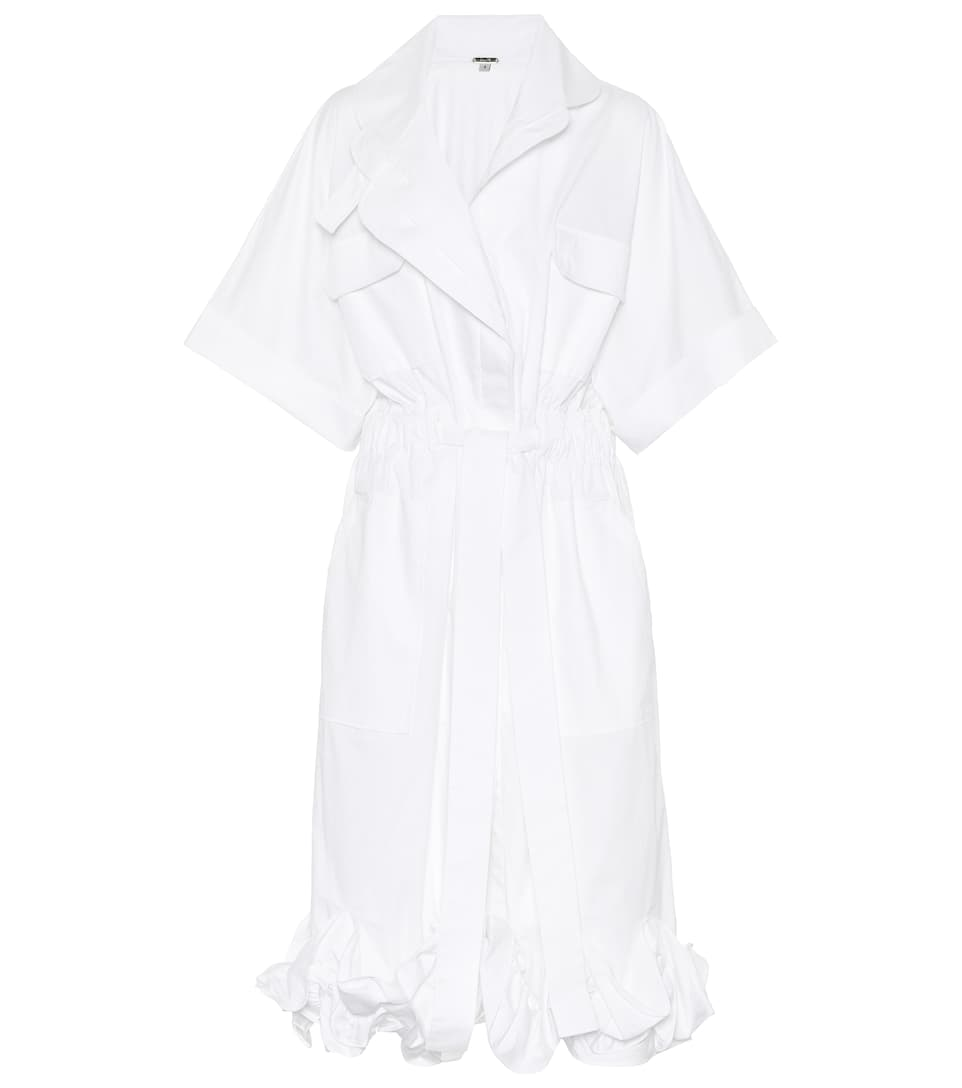 Johanna Ortiz City of Dawn cotton-blend dress Off White Big Sale Ti7zBGT