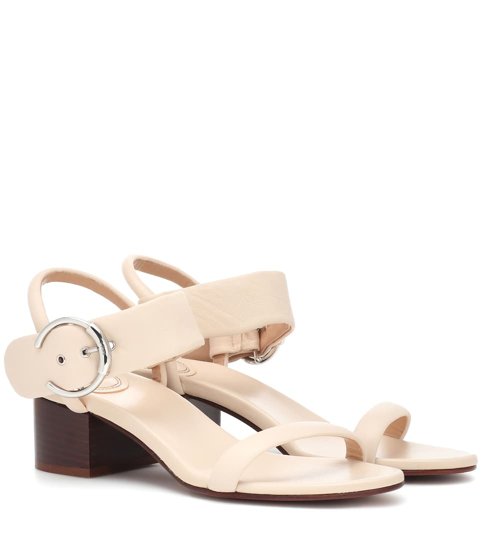 e5223ff0ee Roy 50 Leather Sandals | Chloé - mytheresa.com