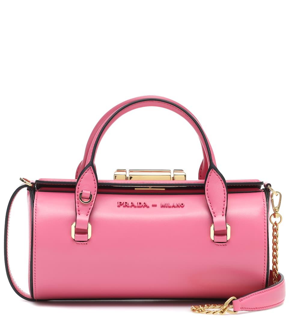 4da4bbe6f6 Sybille Leather Shoulder Bag - Prada | mytheresa.com
