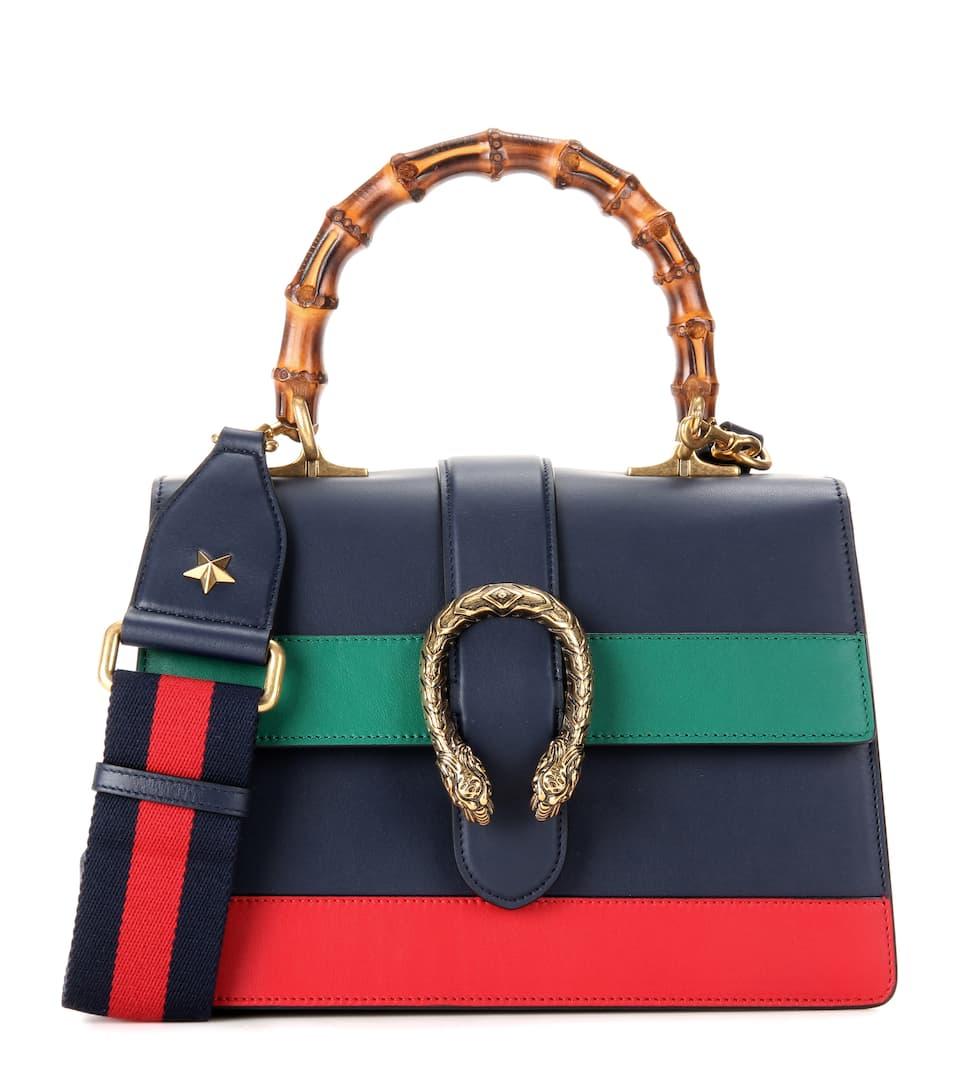 ef8dac1c06b Dionysus Bamboo Medium Leather Shoulder Bag - Gucci