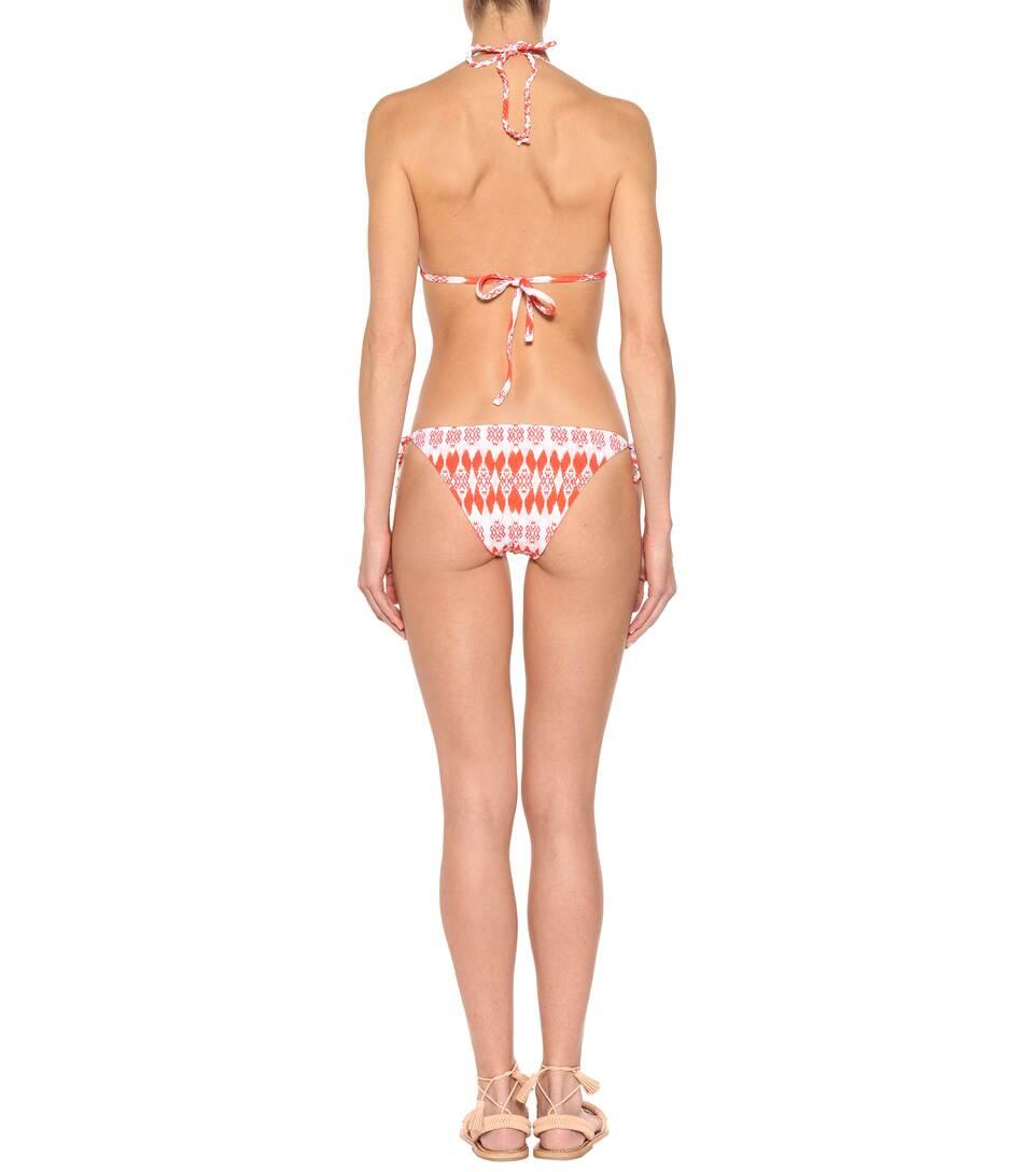 Heidi Klein Wendbares Bikini-Höschen Punta Del Este