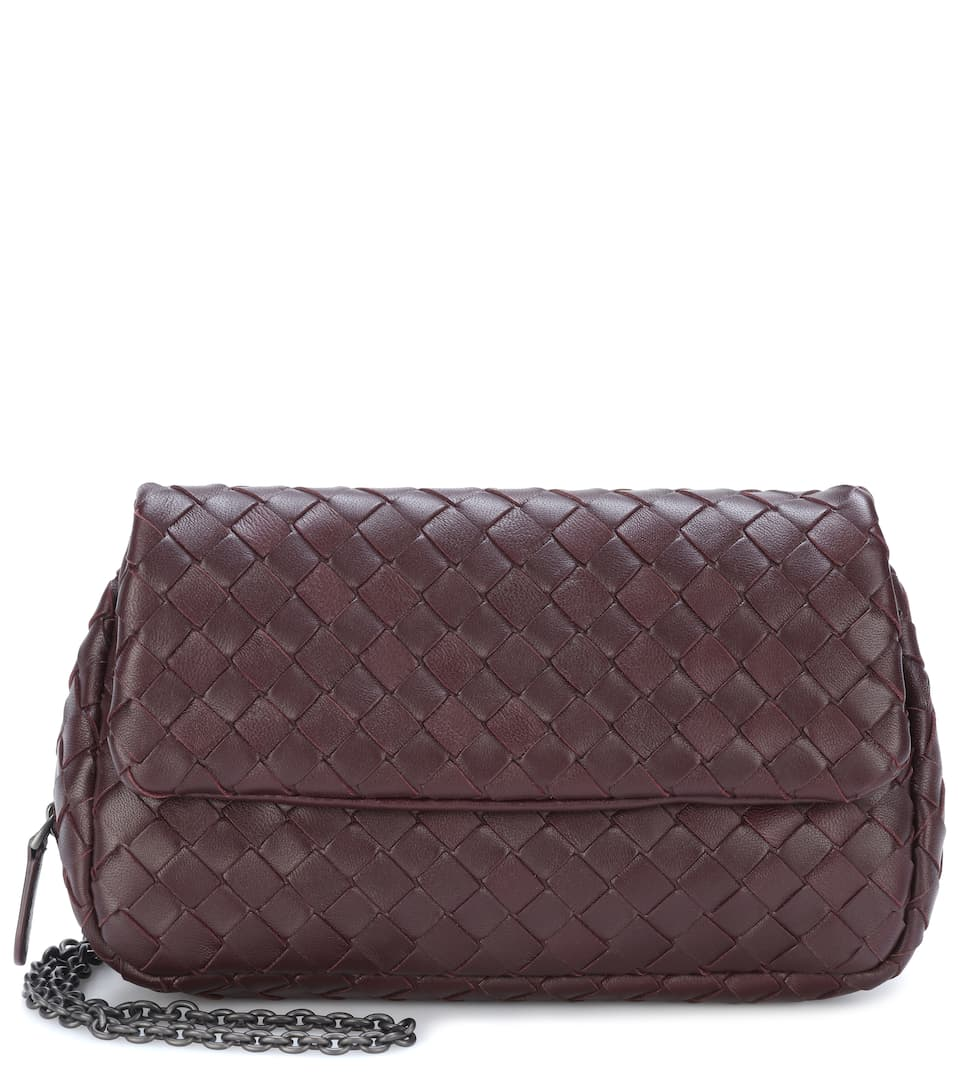 Sac Cross-Body En Cuir Intrecciato - Bottega Veneta
