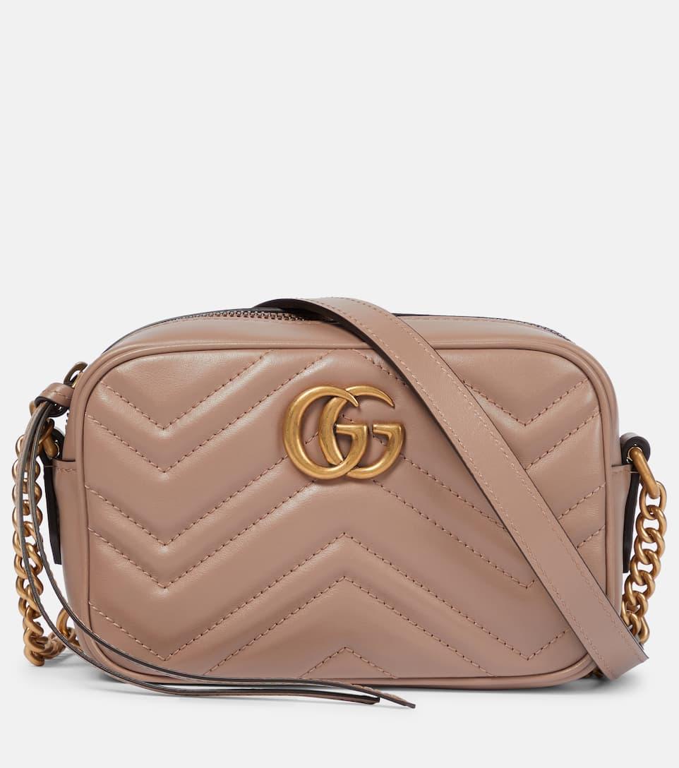 222043f94 Gg Marmont Mini Matelassé Leather Crossbody Bag - Gucci | mytheresa.com
