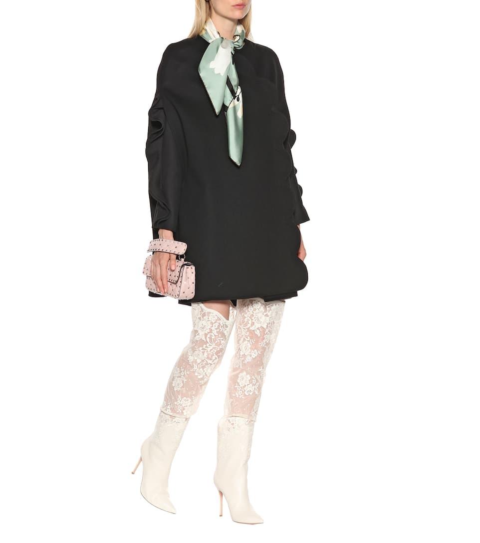 Y Lana Cachemir Mytheresa Valentino Vestido De qPwxUtzt