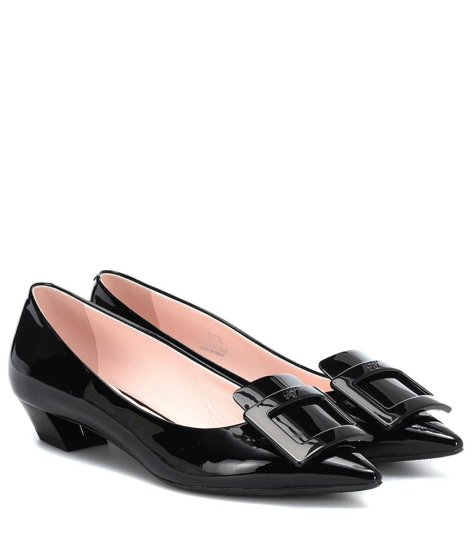 115b7792afca Gommetine Leather Ballet Flats - Roger Vivier