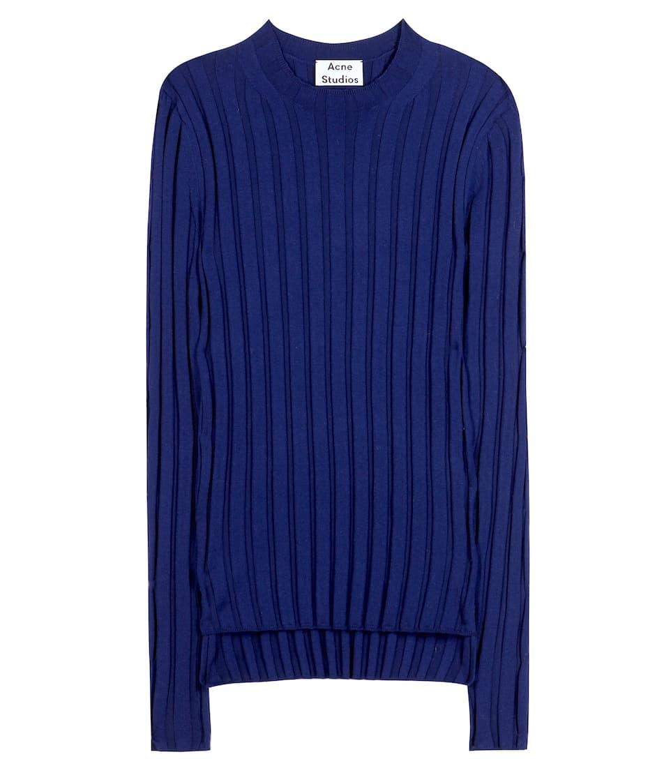 Acne Studios Carin ribbed merino-wool blend sweater