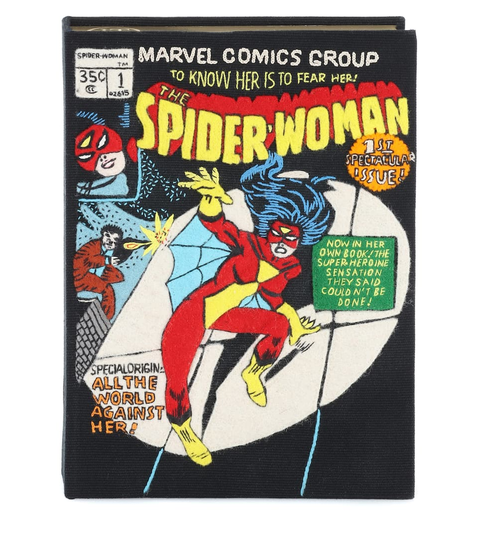Olympia Le-Tan Book-Clutch Spider Woman