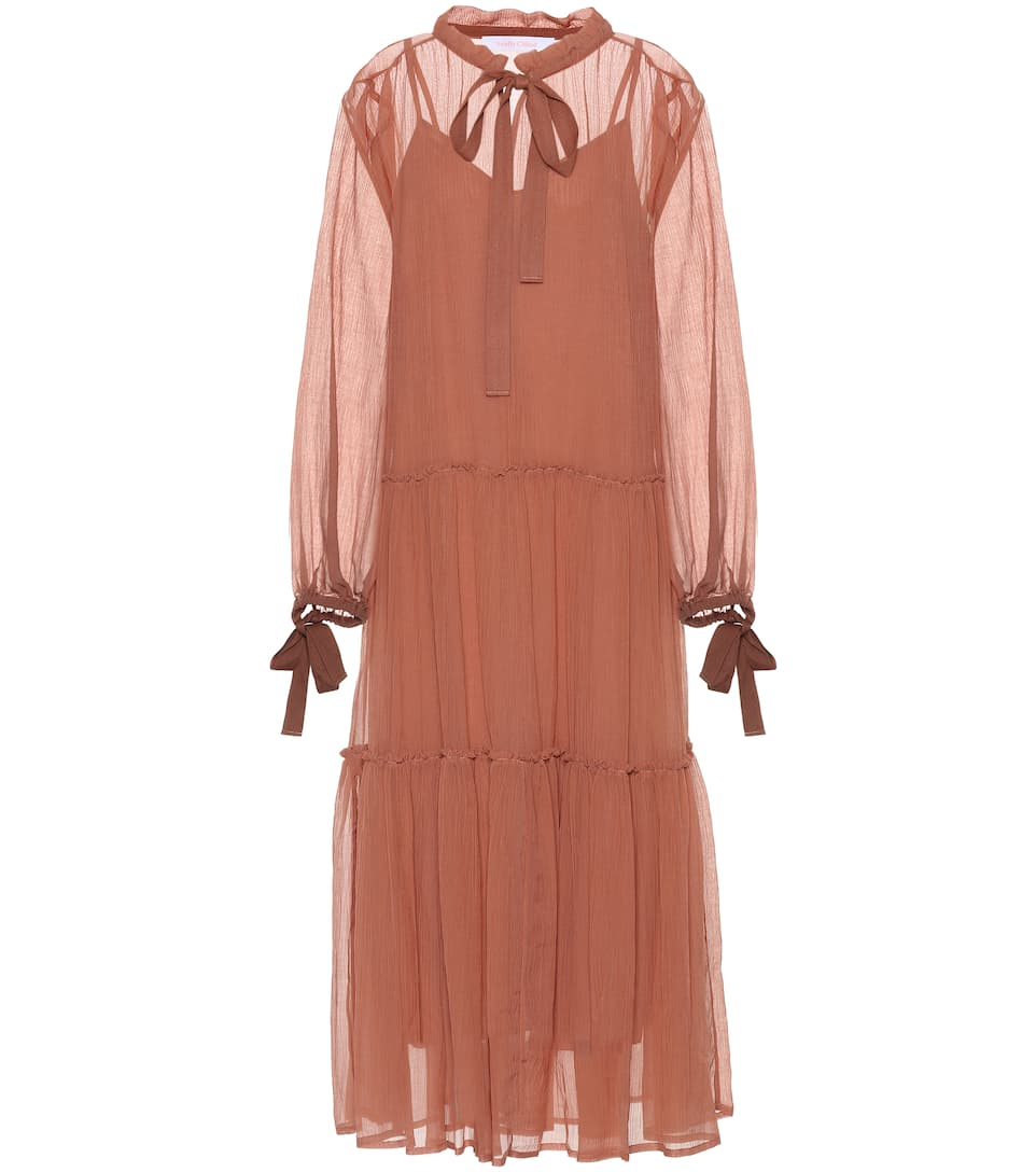 Cotton and silk dress See By Chlo rrbrr