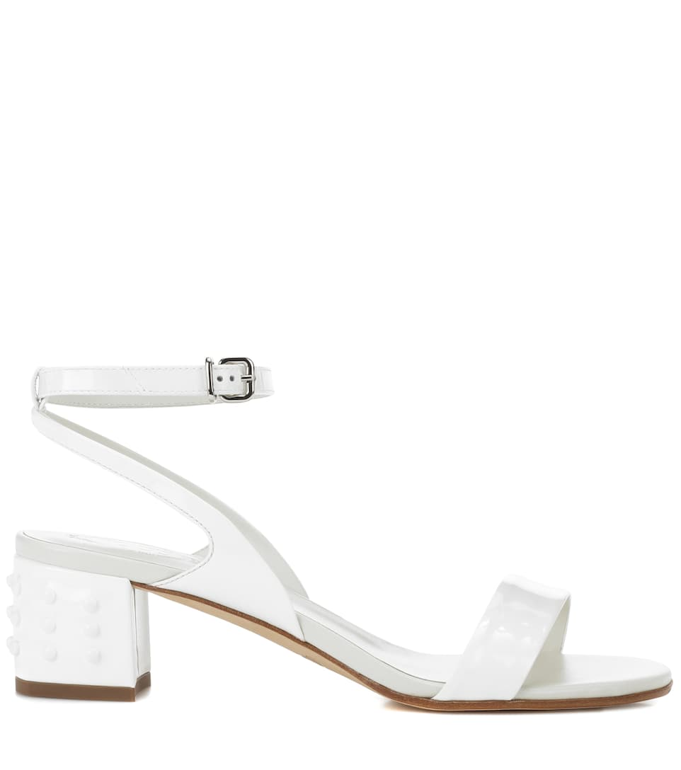 Tods Sandals Made Of Patent Leather