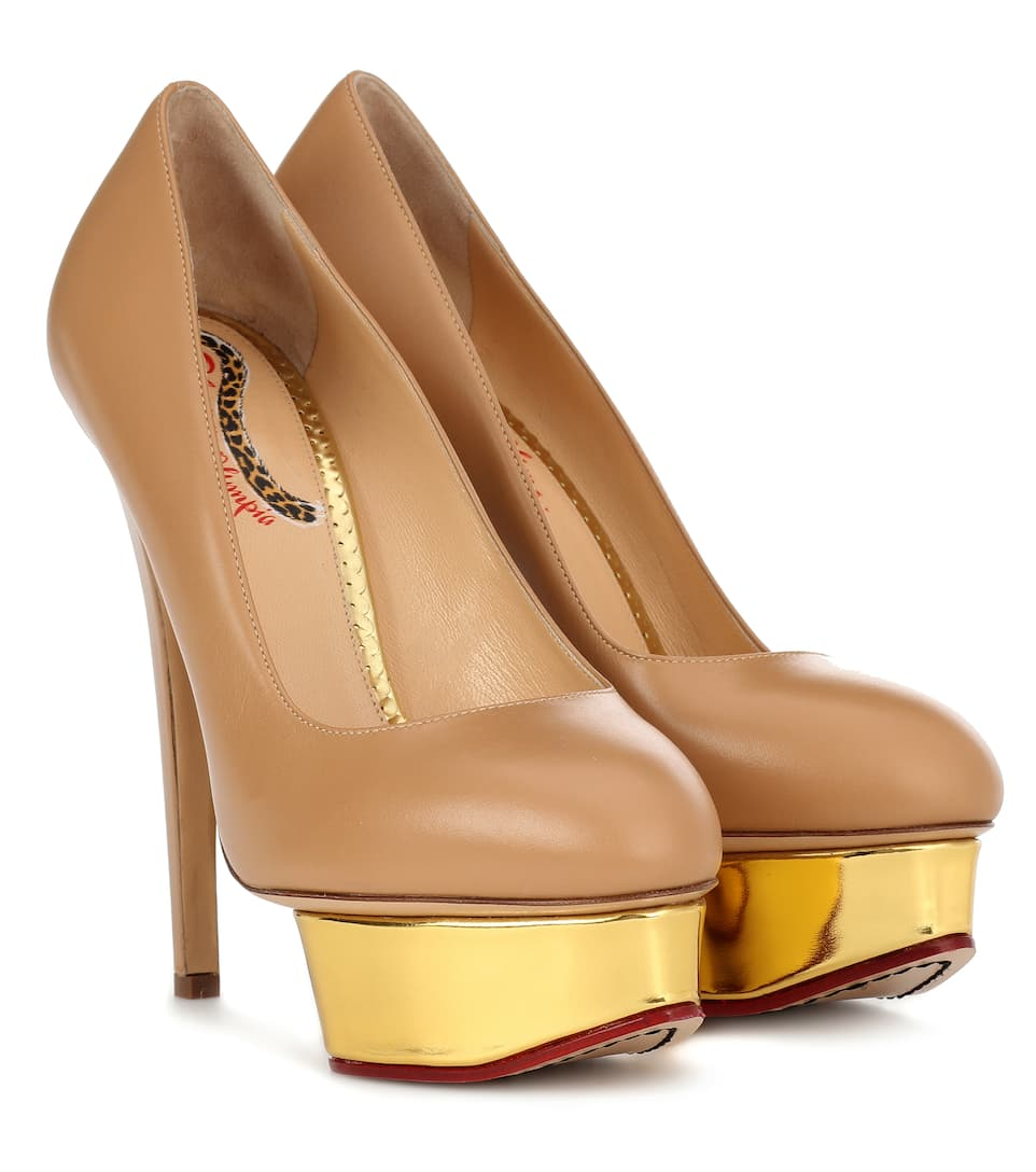 Pumps In Plateau Dolly Pelle Con 2YWH9bEeDI