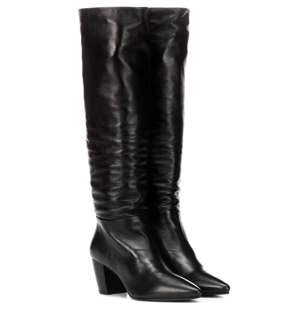 Leather Boots by Prada