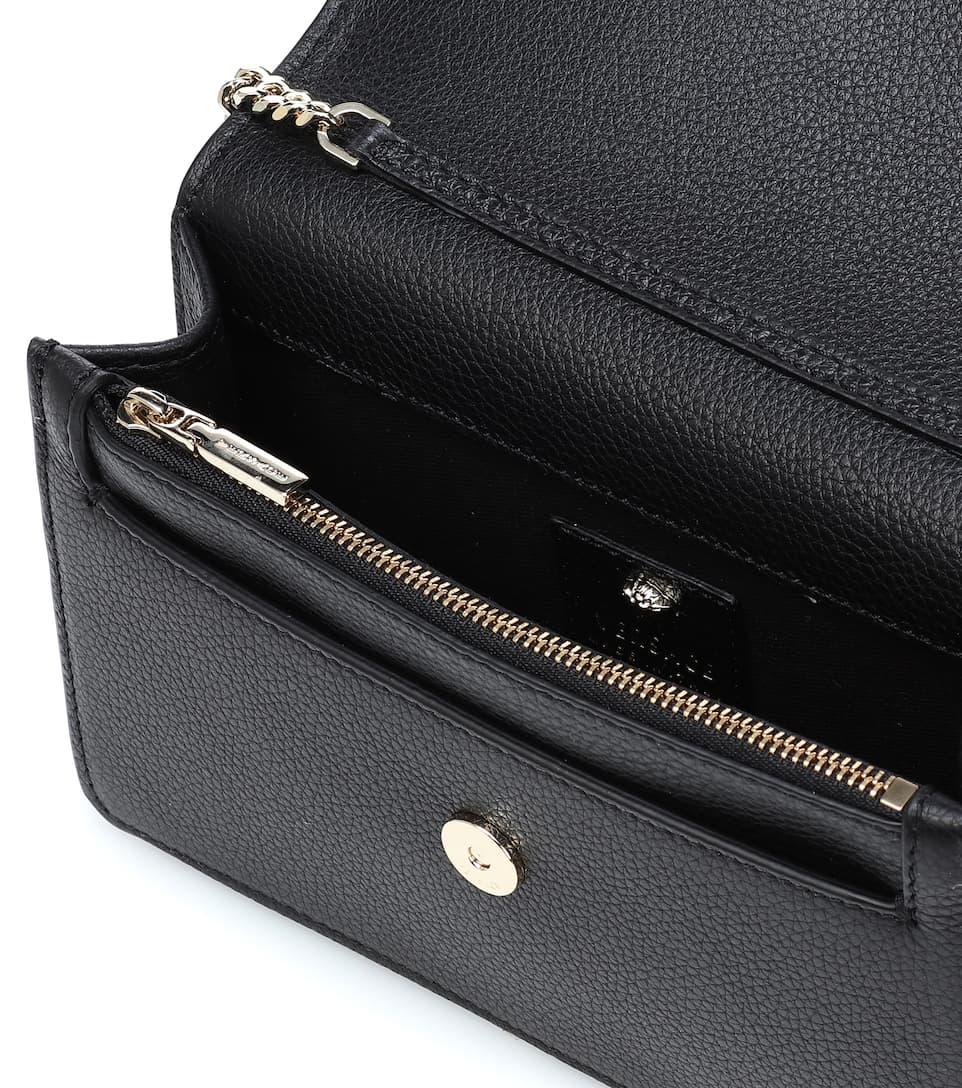 e80c73089f Palazzo Leather Clutch - Versace