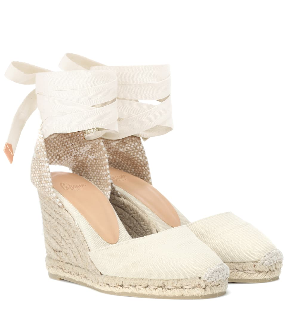 Canvas Wedge Espadrilles
