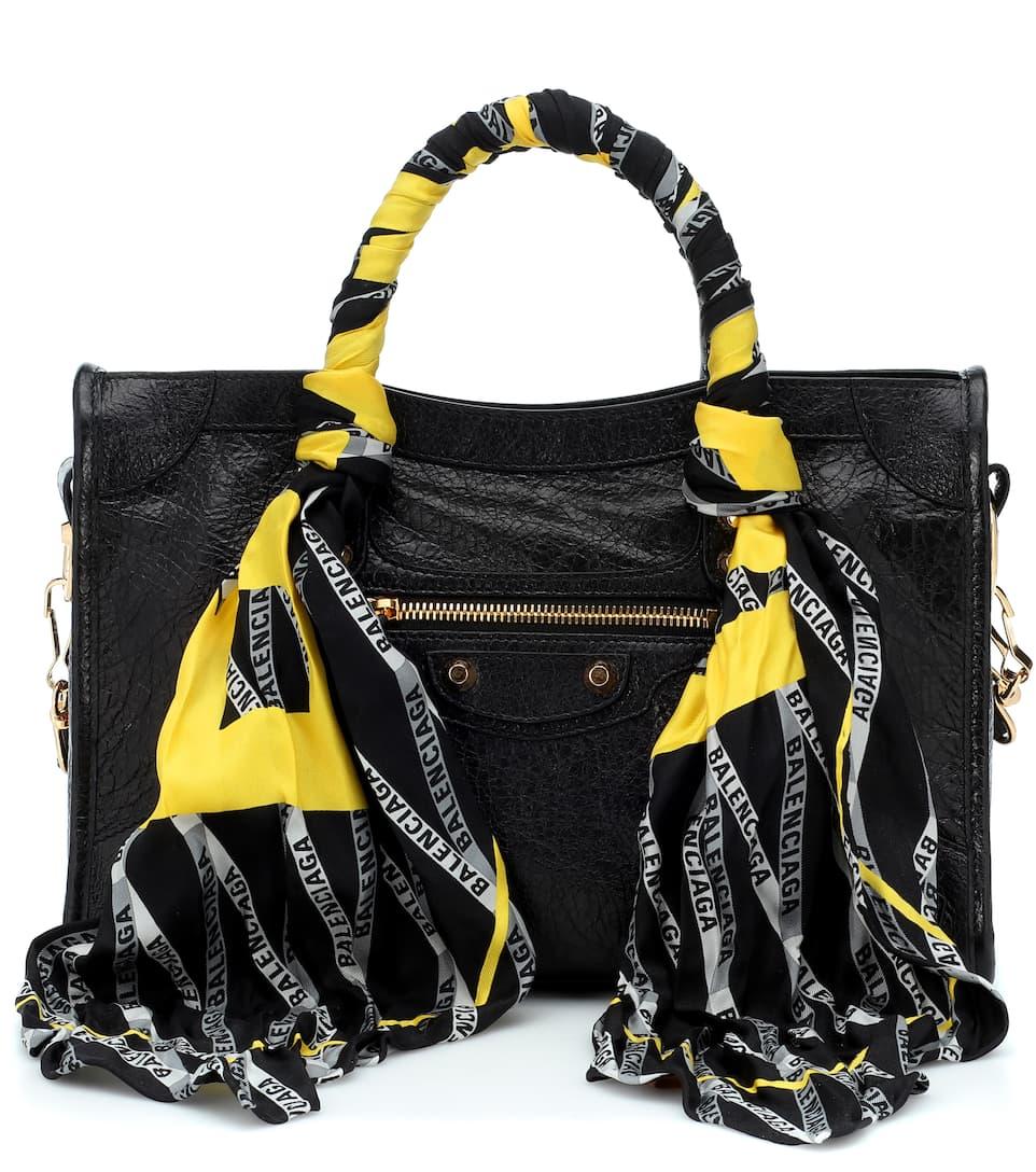 82ae56ae9b6d Classic City Scarf Small Shoulder Bag - Balenciaga