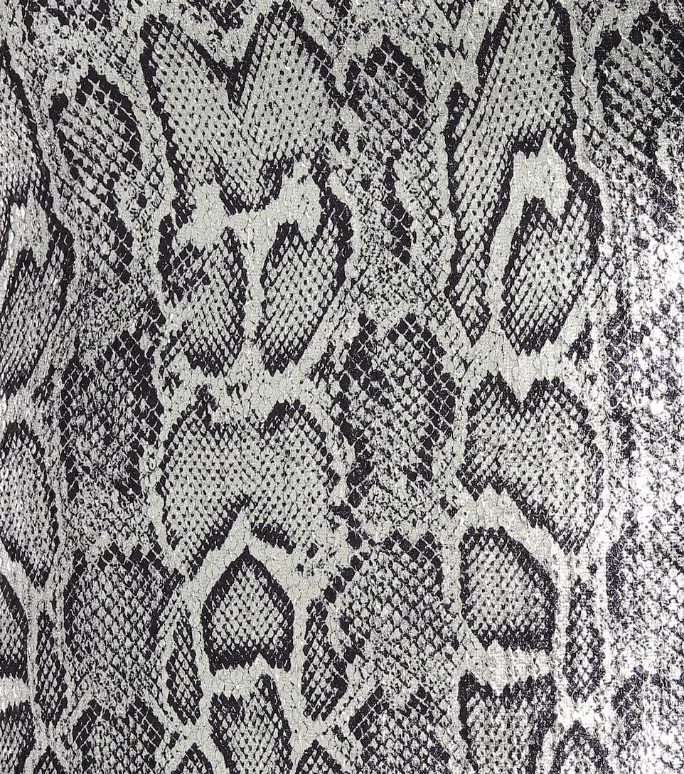 Christopher Kane - Sequined snake-print maxi dress
