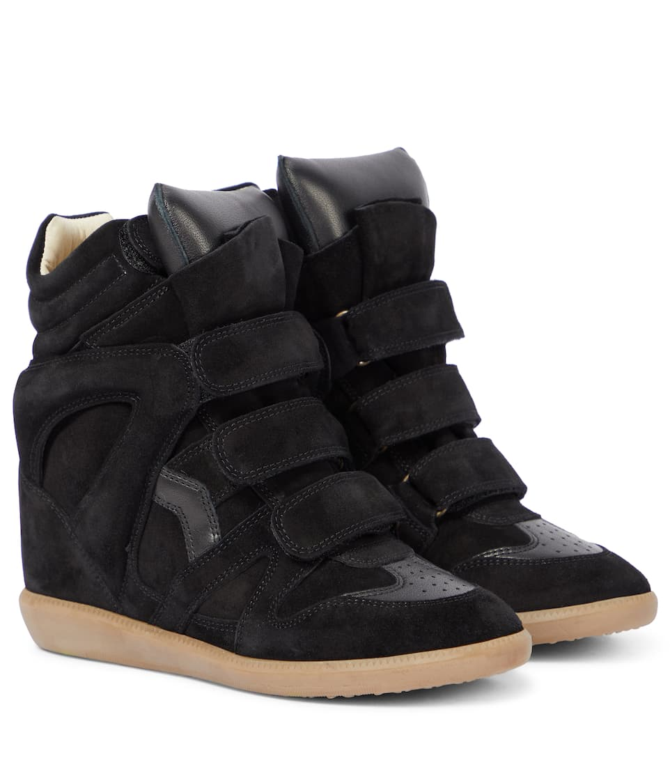 Bekett Leather And Suede Sneakers