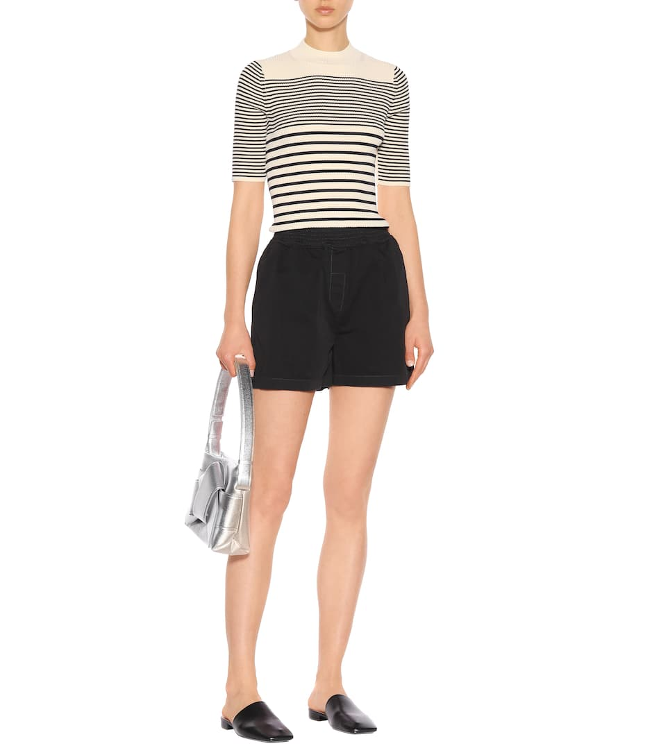 Acne Studios Striped Top Wimna Rib Side