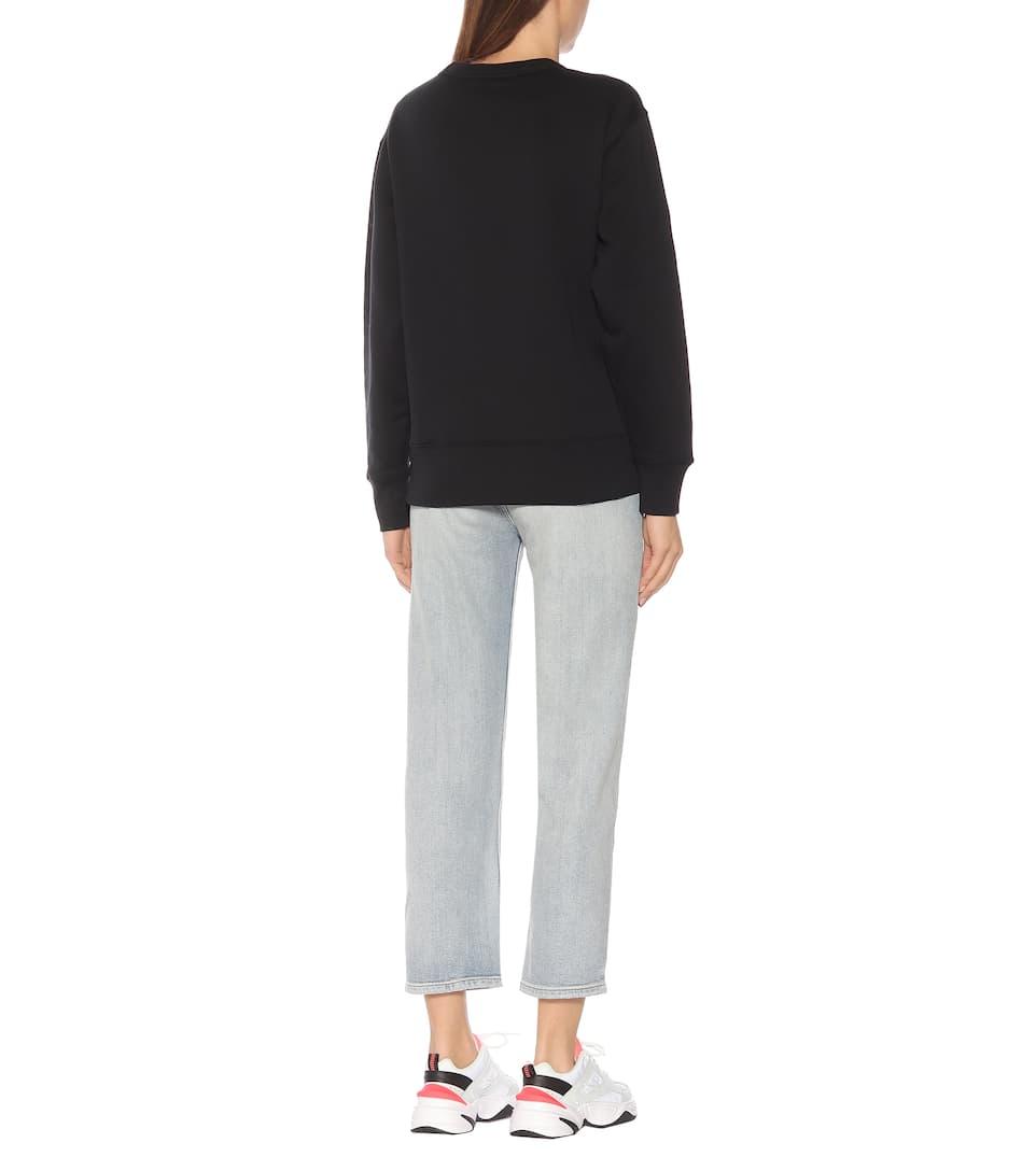 Fairview Face Cotton Sweatshirt | Acne Studios - mytheresa.com